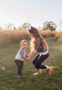 fall sibling photoshoot in Cornwall, NY