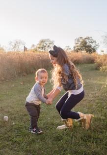 fall sibling photoshoot in Cornwall, NY