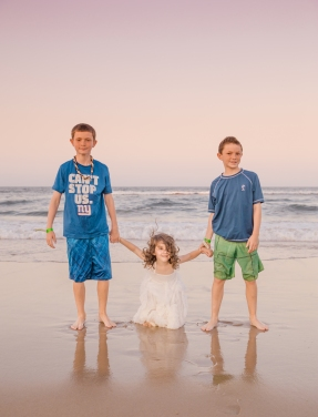 Children Holding hands photography