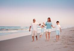 Sunset Family Photographer