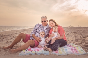 Family Beach Photoshoot Megan Schiraldi Photography