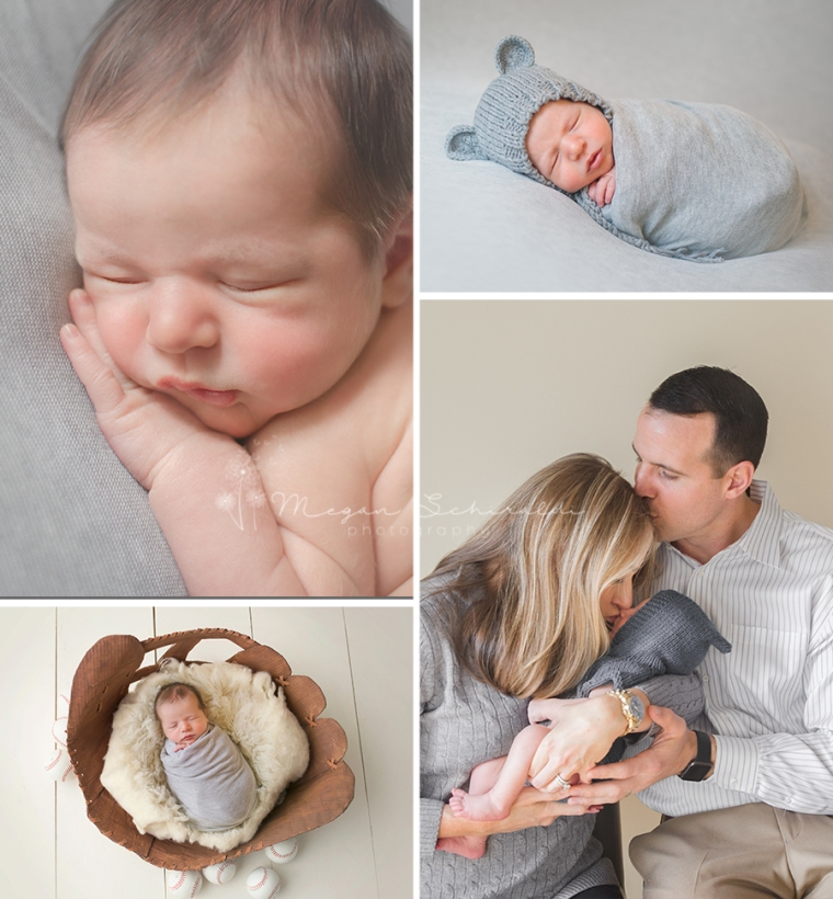 Newborn Boy Collage