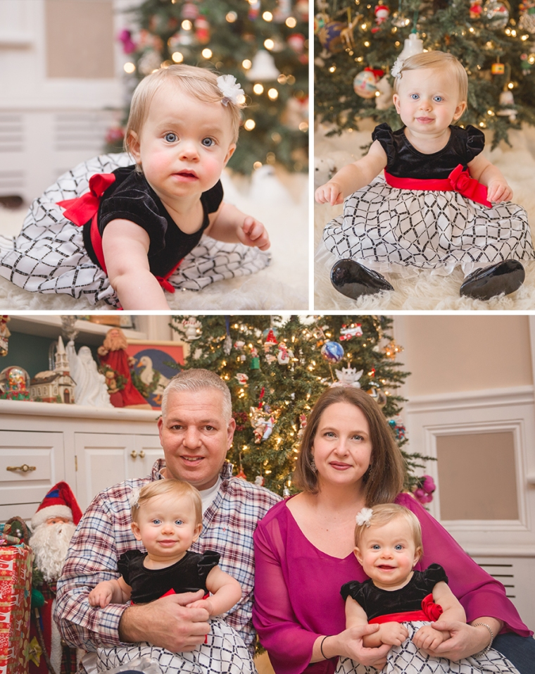 Christmas Family Photo Session Megan Schiraldi Photography